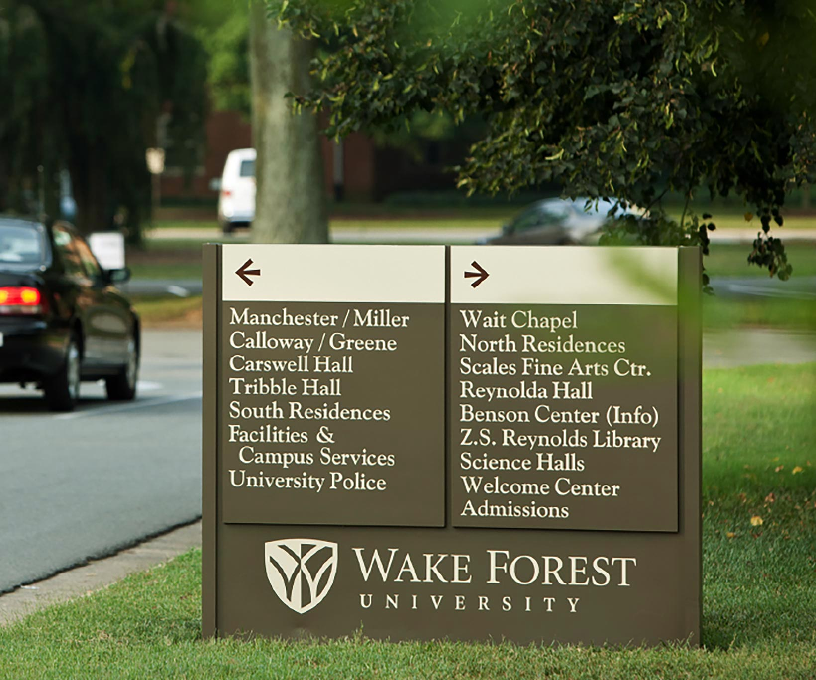 Wake Forest University Sigange - RBMM